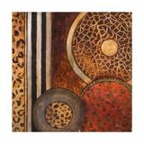 African Circles I Giclee-tryk i høj kvalitet af Patricia Quintero-Pinto