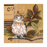 Little Owls I Premium Giclee Print by Patricia Quintero-Pinto