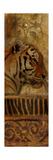 Elegant Safari Panel II (Tiger) Premium Giclee Print by Patricia Quintero-Pinto