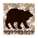 Wilderness Bear Giclee Print by Nicholas Biscardi