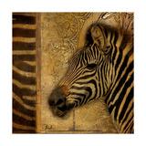 Elegant Safari I (Zebra) Premium Giclée-tryk af Patricia Quintero-Pinto