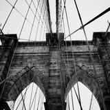 Brooklyn Bridge II Fotografisk tryk af Nicholas Biscardi