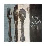 Cafe Premium Giclee Print by Lanie Loreth