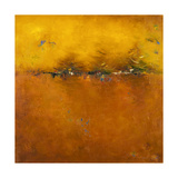 Orange Sunset Giclee-tryk i høj kvalitet af Patricia Quintero-Pinto