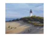Lighthouse on the Shore Premium Giclee Print by Vivien Rhyan
