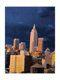 The City I Giclee Print by Nicholas Biscardi