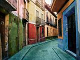 Old Granada Fotodruck von Ynon Mabat
