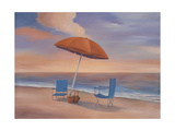 Day by the Shore Premium Giclee Print by Vivien Rhyan