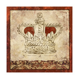 Crowns II Giclee Print by Elizabeth Medley