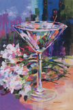 N.Y. Martini Prints by Jane Slivka