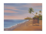 Tropical Beach II Giclee Print by Vivien Rhyan