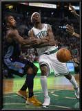 Denver Nuggets v Boston Celtics: J.R. Smith and Marquis Daniels Posters by  Elsa