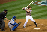 Mar 30, 2014, Los Angeles Dodgers vs San Diego Padres - Jedd Gyorko Photographic Print by Rob Leiter