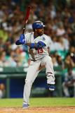 Mar 22, 2014, Los Angeles Dodgers vs Arizona Diamondbacks - Hanley Ramire Photographic Print by Matt King