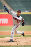 Apr 2, 2014, Minnesota Twins vs Chicago White Sox - Kevin Correia Photographic Print by Ron Vesely