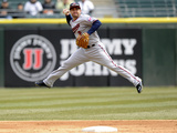 Apr 2, 2014, Minnesota Twins vs Chicago White Sox - Brian Dozier Photographic Print by Ron Vesely