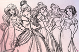 Disney Princess - Pretty Princess Prints