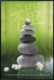Zen-Pebbles Print