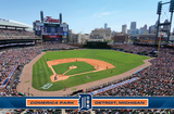 Detroit Tigers - Comerica Park 14 Posters