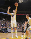 Mar 22, 2014, San Antonio Spurs vs Golden State Warriors - Andrew Bogut Photographic Print by Rocky Widner