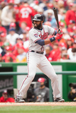 Apr 4, 2014, Atlanta Braves vs Washington Nationals - Jason Heyward Photographic Print by Mitchell Layton