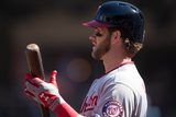 Mar 31, 2014, Washington Nationals vs New York Mets - Bryce Harper Photographic Print by Rob Tringali