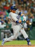 Mar 22, 2014, Los Angeles Dodgers vs Arizona Diamondbacks - Justin Turner Photographic Print by Matt King