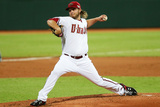 Mar 22, 2014, Los Angeles Dodgers vs Arizona Diamondbacks - Wade Miley Photographic Print by Matt King