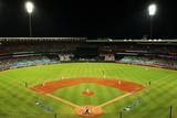 Mar 22, 2014: Sydney, Aus - Los Angeles Dodgers vs Arizona Diamondbacks - Sydney Cricket Ground Photographic Print by Matt King