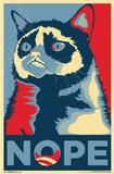 Grumpy Cat - Nope Posters