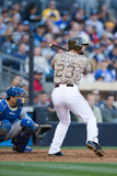 Mar 30, 2014: Los Angeles Dodgers vs San Diego Padres - Yonder Alonso Photographic Print by Rob Leiter