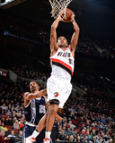 Feb 11, 2014, Oklahoma City Thunder vs Portland Trail Blazers - Nicolas Batum Photographic Print by Garrett Ellwood