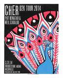 Cher Serigrafía por  Print Mafia
