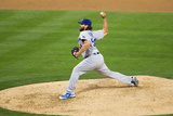 Mar 30, 2014, Los Angeles Dodgers vs San Diego Padres - Chris Perez Photographic Print by Rob Leiter