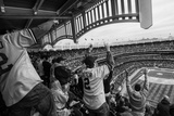 Apr 7, 2014, Baltimore Orioles vs New York Yankees - Yankees Fans Photographic Print by Rob Tringali