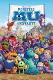 Monsters University - One Sheet Posters
