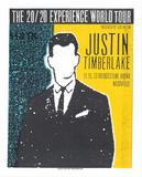 Justin Timberlake Serigrafi af Print Mafia