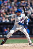 Mar 31, 2014, Washington Nationals vs New York Mets - Ike Davis Photographic Print by Rob Tringali