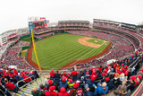 Apr 4, 2014, Atlanta Braves vs Washington Nationals Photographic Print by Mitchell Layton