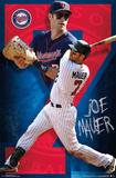 Minnesota Twins - J Mauer 14 Posters