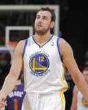 Mar 9, 2014, Phoenix Suns vs Golden State Warriors - Andrew Bogut Photographic Print by Rocky Widner