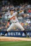 Apr 7, 2014, Baltimore Orioles vs New York Yankees - Ubaldo Jimenez Photographic Print by Rob Tringali