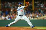 Mar 22, 2014, Los Angeles Dodgers vs Arizona Diamondbacks - Kenley Jansen Photographic Print by Mark Nolan