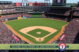 Texas Rangers - Globe Life Park 14 Posters