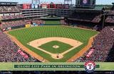 Texas Rangers - Globe Life Park 14 Print