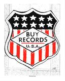 Buy Records Serigrafi (silketryk) af  Print Mafia