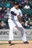 Apr 2, 2014, Minnesota Twins vs Chicago White Sox - Scott Downs Photographic Print by Ron Vesely