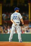 Mar 22, 2014, Los Angeles Dodgers vs Arizona Diamondbacks - Clayton Kershaw Photographic Print by Mark Nolan
