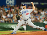 Mar 22, 2014, Los Angeles Dodgers vs Arizona Diamondbacks - Clayton Kershaw Photographic Print by Matt King
