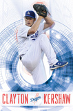 Los Angeles Dodgers - C Kershaw 14 Plakater